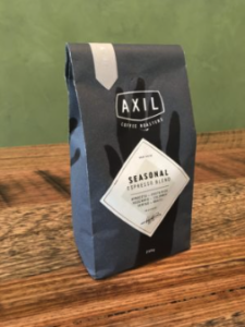 Axil Coffee Roasters Espresso Blend Beans 250g (Ground and Decaf can be pre-ordered) - $14